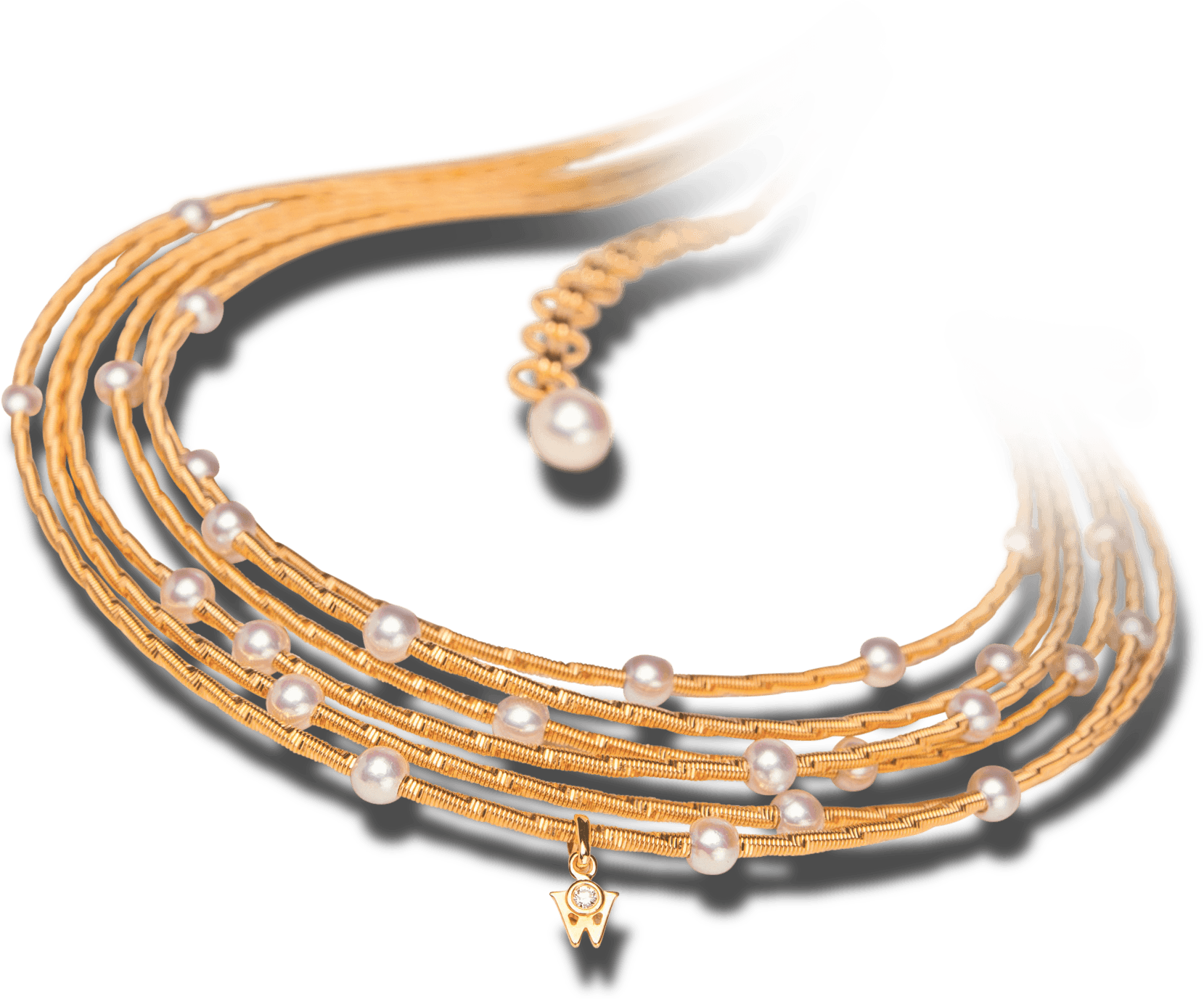 Goldketten, Catene-d'oro, gold-Chains